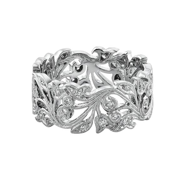 Stunning bold design by Ungar & Ungar. This diamond ring can be made in 18-carat gold or platinum. www.kellerwood.com