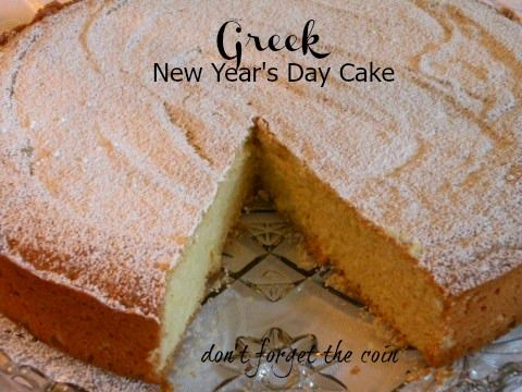 Post image for Greek New Year's Day Cake – Thea Liza's Vasilopita
