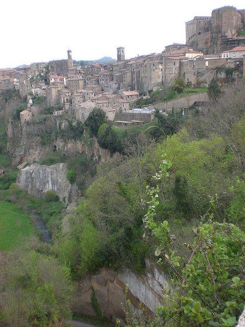 Sorano (Maremma) Tuscany, Italy