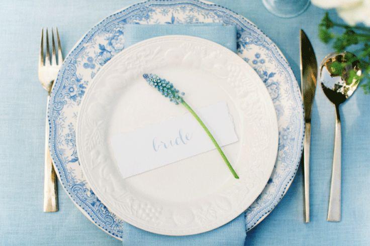Delft Blue    Wedding Stationery set - design: Leintjes Exclusief - design: Leintjes Exclusief    Photocredits: Anouschka Rokebrand