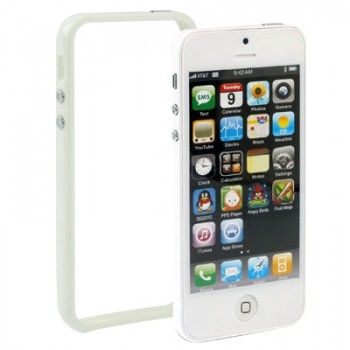 White Bumper Frame iPhone Case