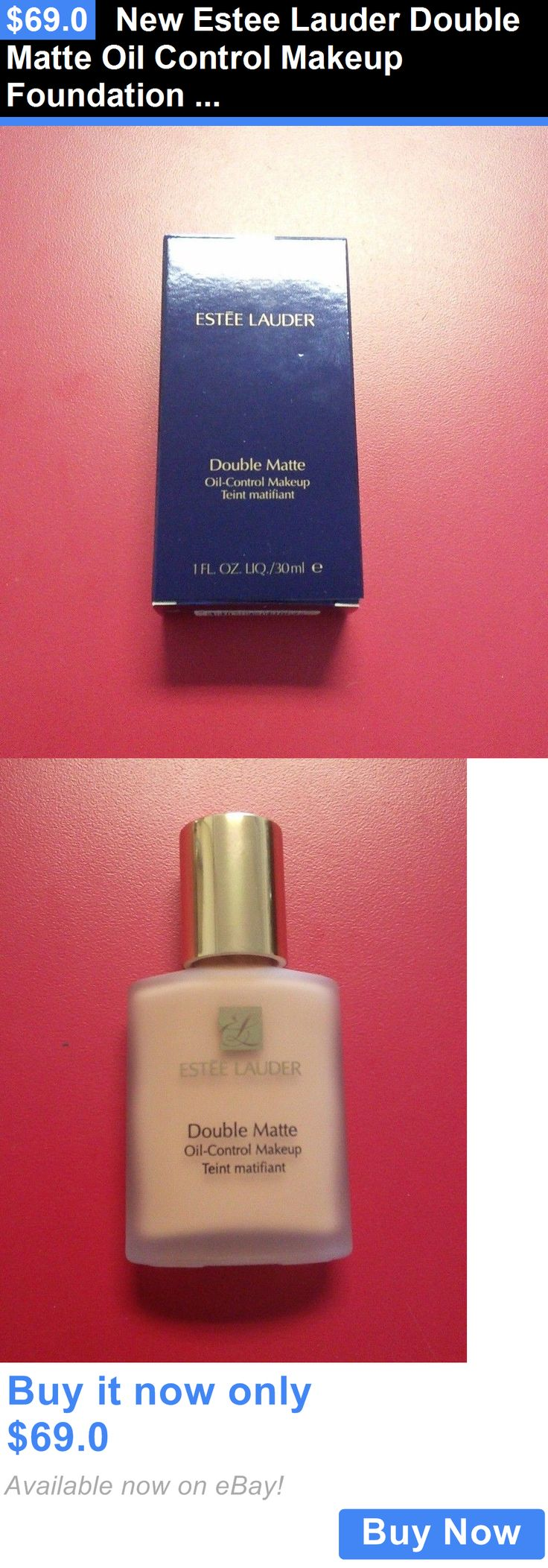 Beauty Makeup: New Estee Lauder Double Matte Oil Control Makeup Foundation Full Choose Shade BUY IT NOW ONLY: $69.0