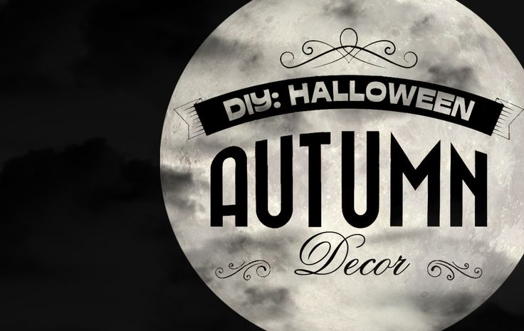 JulieMcQueen: DIY`s\Decor 2014 http://juliemcqueen.blogspot.ru/2014/10/diy-halloween-autumn-decor.html
