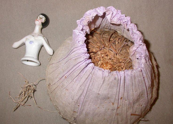 porcelain half dolls   Half Doll Redo