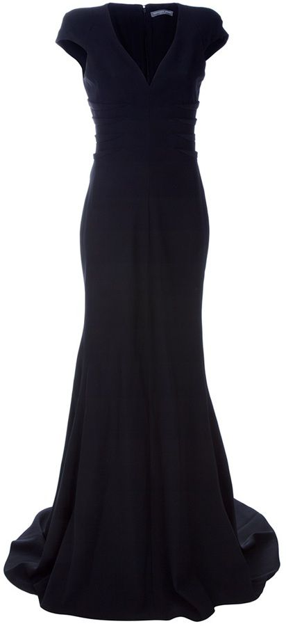 Alexander McQueen floor-length evening dress