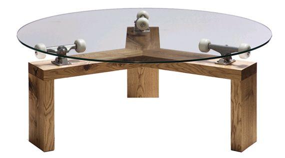 lazy skating table
