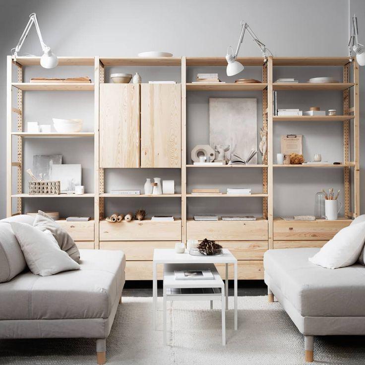 40 IKEA Furniture Ideas for Living Room Decor