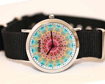 Boho Watch - The Garden design - thehirode on Etsy