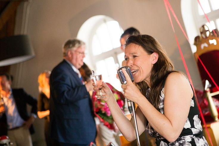 Jolanda Bazen van Luizter verzorgde de vocale klanken.