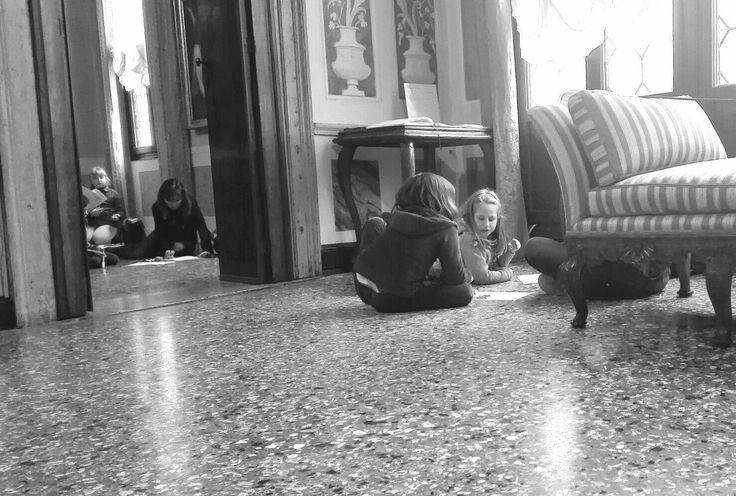 #FondazioneQueriniStampalia #carnevale #bambini