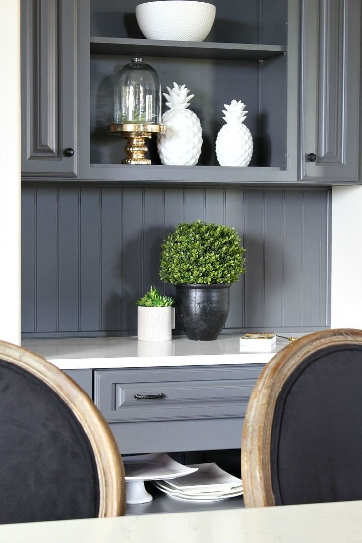 My Favorite Dark Gray Paint Color For Kitchen Cabinets Is Benjamin Moore Gray Painting Kitchen Cabinets Modern Grey Kitchen Painted Kitchen Cabinets Colors