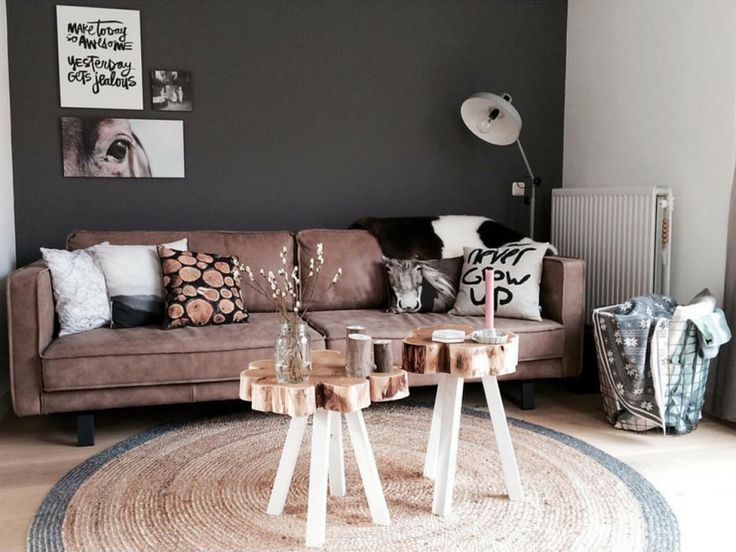 25 beste ideen over Woonkamer bruin op Pinterest