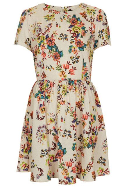 Earn 6% for causes on Enlightened.org when you purchase: Topshop 'Florence' Sampler Print Dress -  Price: $90.00#Enlightened