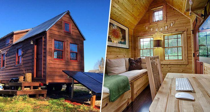 En 2011, un couple d'américains hyper-connectés, inspiré par le mouvement des tiny house on wheels décide d'accéder à la propriété sans passer par la case crédit/endettement, en construisant de leu…
