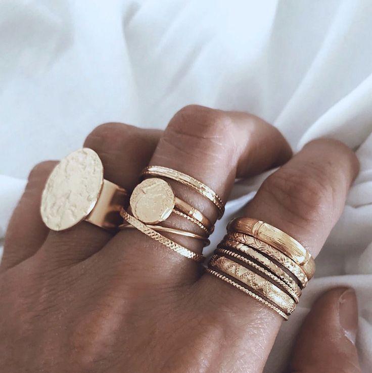 Für ältere Kinder … Wie viele Ringe auf diesem…
