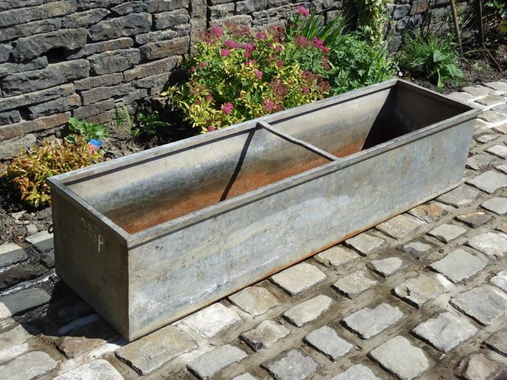 Item Detail for TP1033 - Galvanised cattle troughs