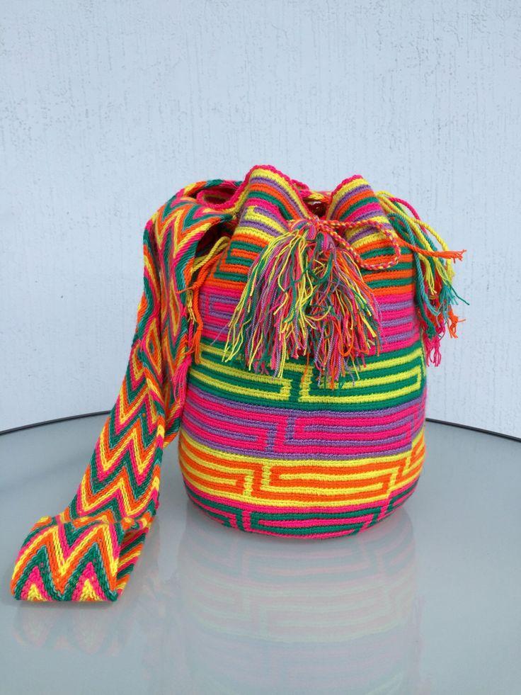 A personal favorite from my Etsy shop https://www.etsy.com/listing/448711704/wayuu-bags-wayuu-mochila-bags-colombian