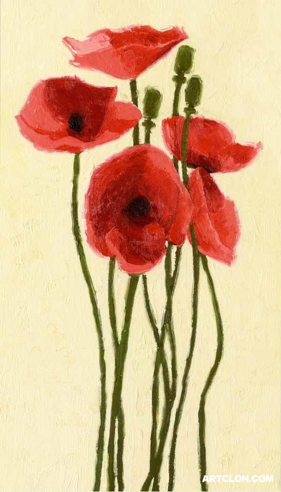 168 best Artist - Shirley Novak images on Pinterest | Poppies, Art ...