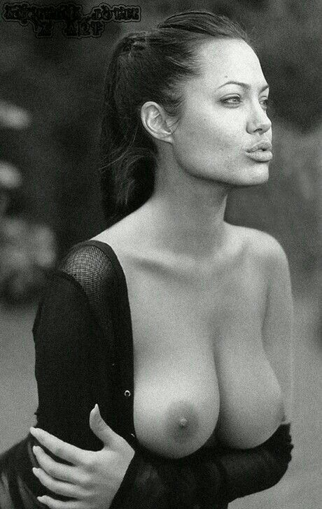 ★ Angelina Jolie…, boobs nipples