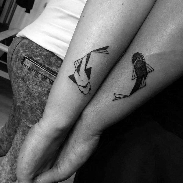 101 Couples Tattoo Ideas That Show Your Love For Each Other Incl Matching Designs Couples Tattoo Designs Matching Couple Tattoos Couple Tattoos