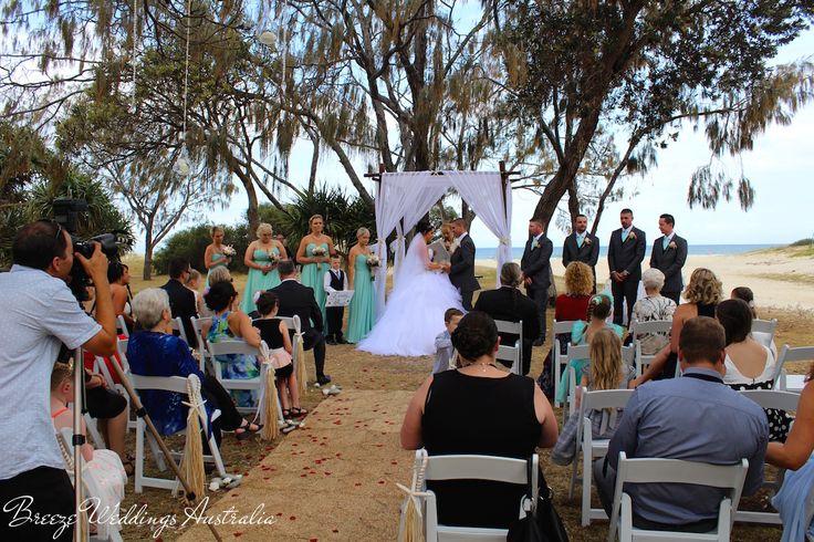 Len Wort Park Currumbin  Styling by www.breezeweddings.com.au #lenwortpark #tugunwedding #breezeweddingsaustralia #lenwortparkwedding #wedding #goldcoastwedding #australiawedding #whitethemewedding #currumbinwedding #chuppah #teepee #hangingdecor #weddingceremony #dreamwedding #beautiful #свадьбававстралии #австралия #свадьба #невеста #свадьбамечты #lovemyjob #oceanbackground #vowls #love #свадьбазаграницей…