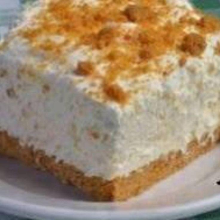 Rhubarb-Gingersnap Icebox Pie Recipe — Dishmaps