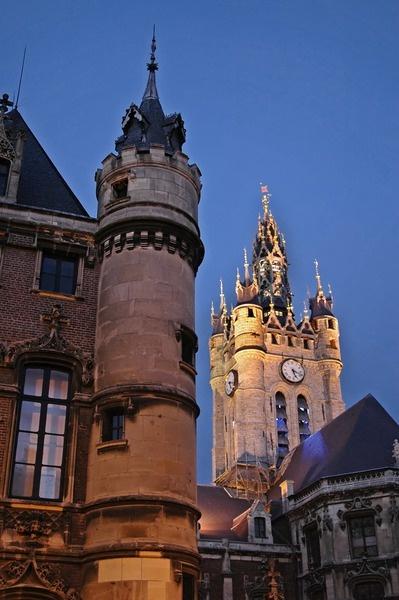 Hotel de Ville & Beffroi Douai ALJacquartAcquis, Nord