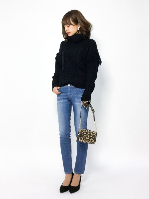 titivateのニット・セーター「3ゲージケーブルニットプルオーバー」を使ったeriko(ZOZOTOWN)のコーディネートです。WEARはモデル・俳優・ショップスタッフなどの着こなしをチェックできるファッションコーディネートサイトです。