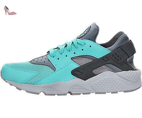 NIKE Air Huarache Hommes Sneaker Bleu 318429 408, Taille:47.5 - Chaussures nike (*Partner-Link)