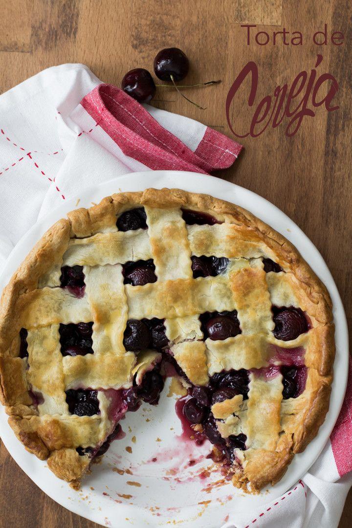 Torta de cereja é simples de fazer e fica linda e deliciosa (1 of 1)-6