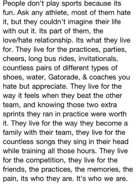 Last year in basketball, my coach gave me and my team-mates this quote. She had us read it and all of us agreed that it was true.
