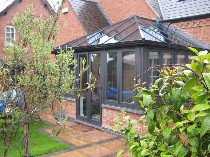 Simply stunning #Residence9 #orangery completed in Eclectic Grey