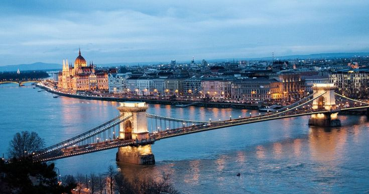 The divided metropolis straddles the Danube, with grand old architecture on one side and a modern city with booming nightlife on the other