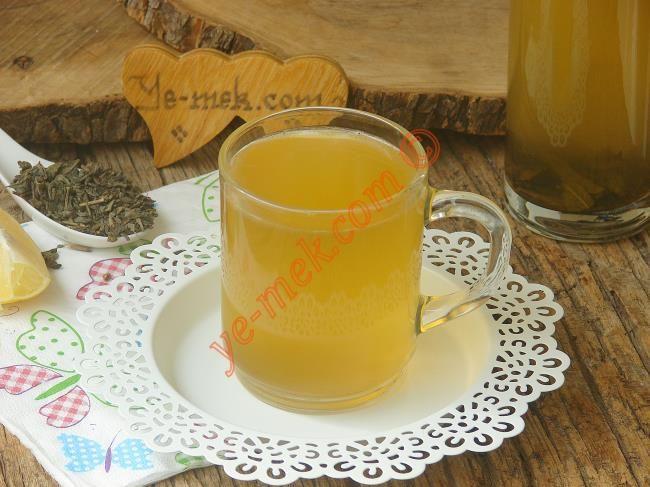 Zayıflatan Sodalı Çay Kürü Resimli Tarifi - Yemek Tarifleri