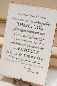 thank you: Signs, Sweet, Wedding Guest, Receptions, Dreams, Guest Books Tables, Cute Ideas, Gifts Tables, Card