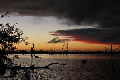 Nightfall on Lake Mulwala - Yarrawonga