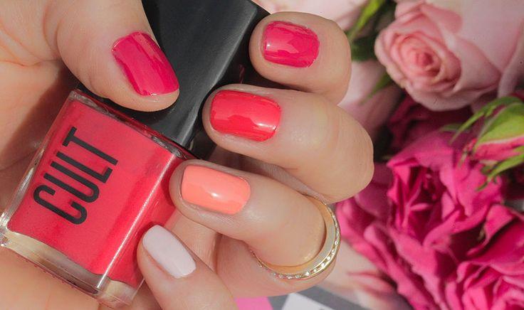 Pastel Nails.
