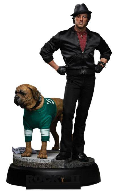 Rocky Balboa and Butkus 1/4 Scale Statue
