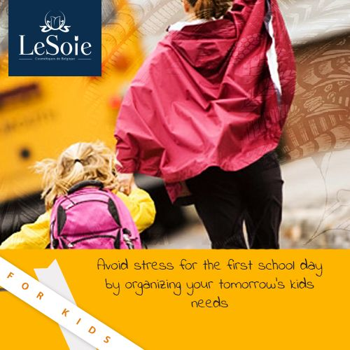 "Kids should feel happy in their school outfits and that is why LeSoie is throwing them this fun competition ""too cool for school"", send us your child's picture in his or her school outfit using this hashtag : #toocoolforschool at our official Instagram account and the winner will get valuable gifts from LeSoie"