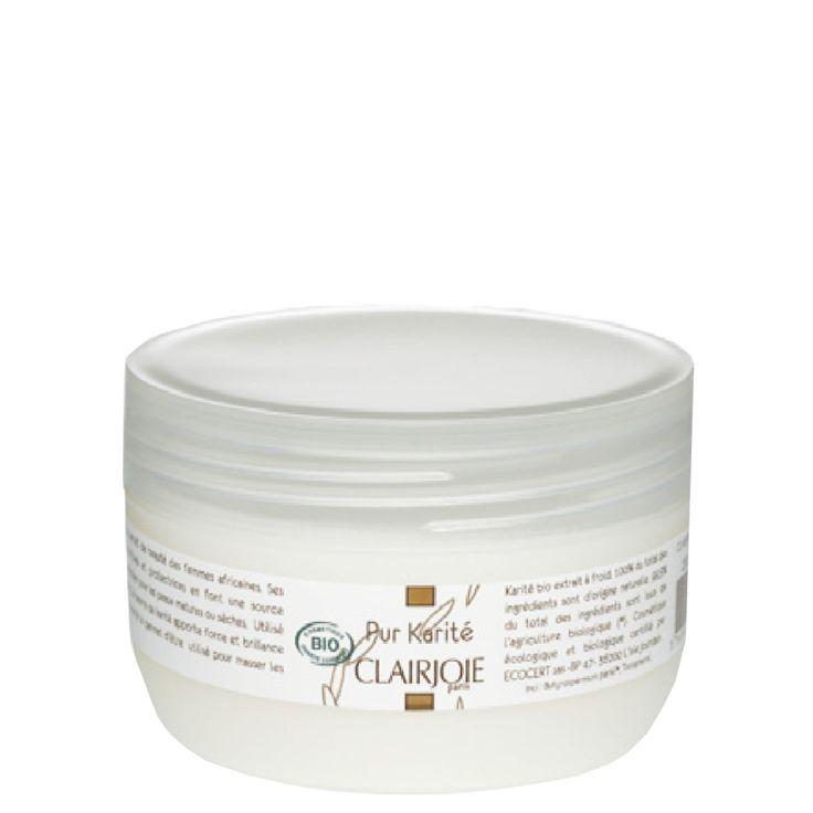 Beurre de Karité bio pur. Nourrissant, il constitue un véritable trésor de beauté pour le visage, le corps et les cheveux.  http://www.clairjoie.com/beurres-et-baumes/34-beurre-de-karite-bio.html  #soinscorpsclairjoie