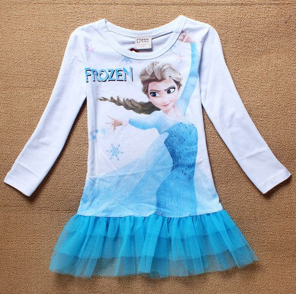 baby clothes wholesale price frozen princess elsa costume 3 year old girl dress