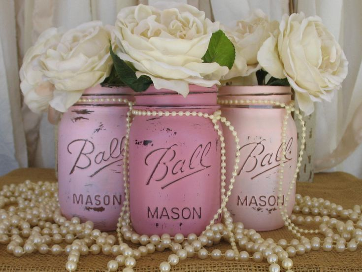 75 best mason jars painted images on pinterest   pint mason jars