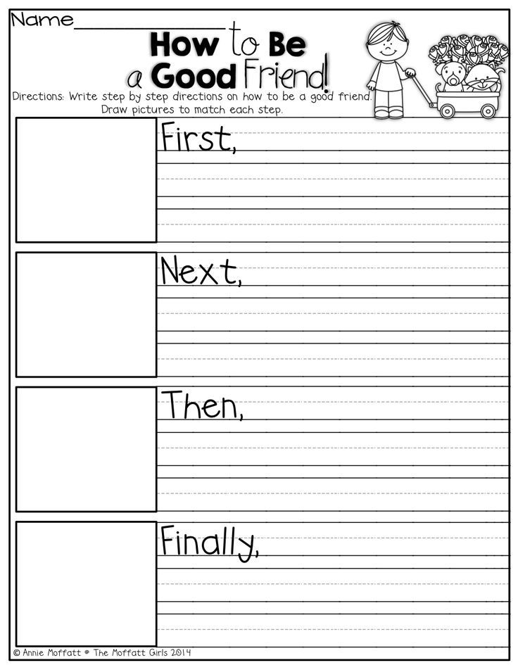 Second Grade Writing Activities