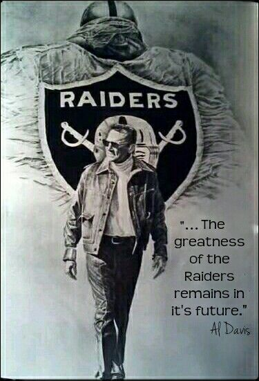 The great Al Davis. . . R.I.P