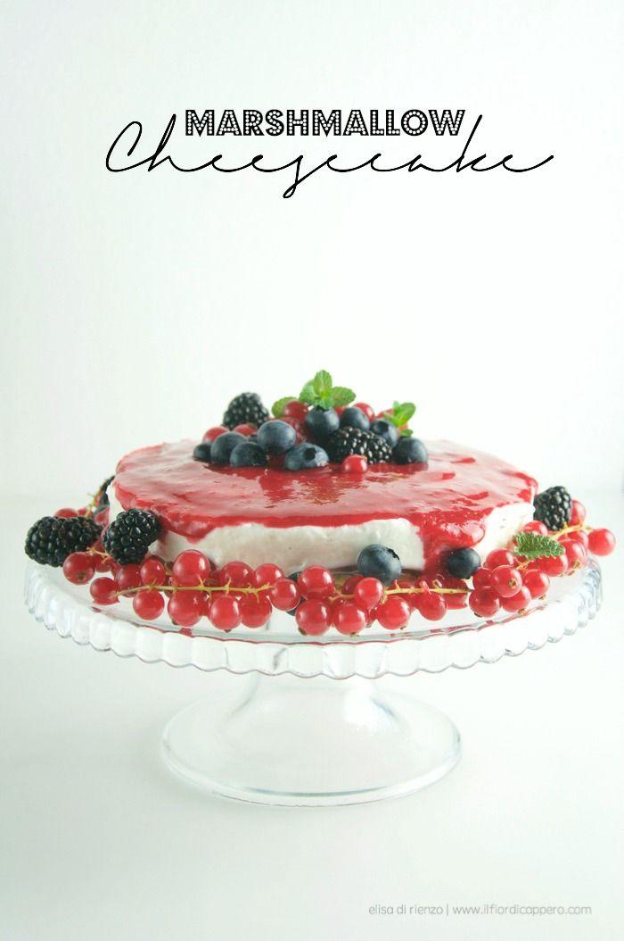 Cheesecake con crema marshmallow
