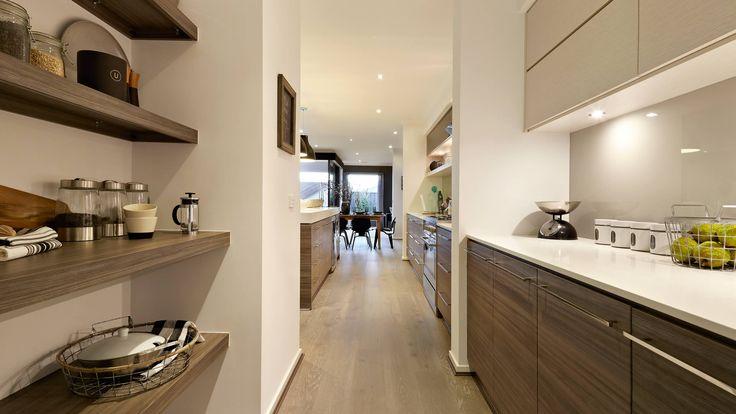 Winslow MK2 Gallery | Carlisle Homes - Like shelving & cupboard style in my colors