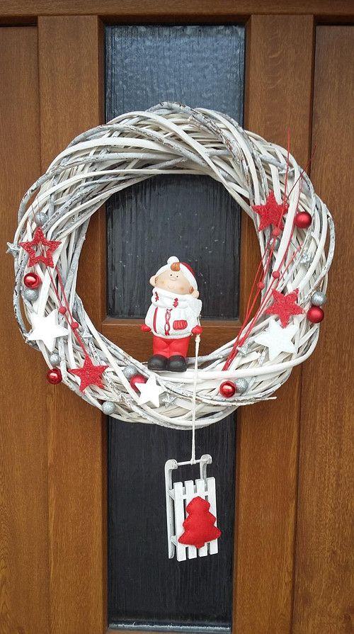 Hééj, pojďte sáňkovat II - Vánoční věnec na dveře / Zboží prodejce Envioshop   Fler.cz
