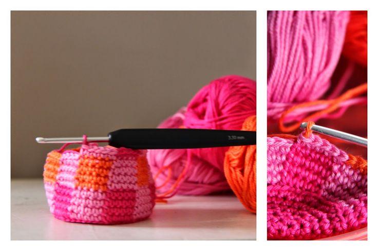 Ak at home : crochet * beschrijving fleshoesje