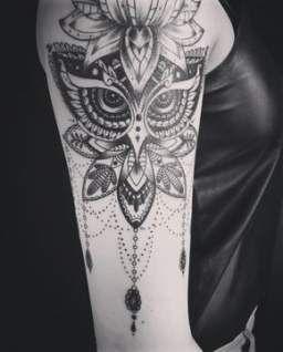 Tattoo frauen mandala eule 16+ Ideas for 2019