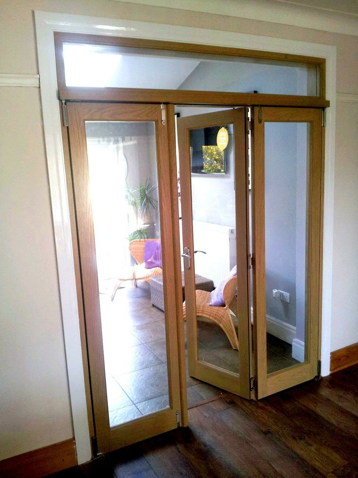 Middle opening view of the Vufold Inspire 6ft Internal Room Divider Door Preston & 42 best Internal Bi fold doors images on Pinterest | Room iders ...